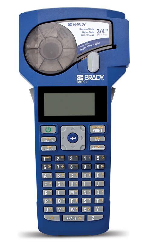 Brady Label Printer brady worldwide inc announces launch of new bmp21