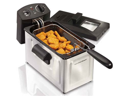 Hamilton Beach: 12 Cup Oil Capacity Deep Fryer (35033)