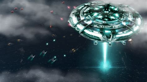 supreme commander mod aeon mothership wallpaper image rev expansion mod