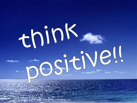 Power Of Positive Thinking the power of positive thinking