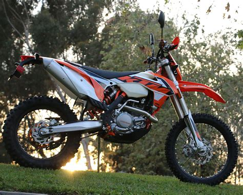Ktm 500 Exc Modifications 2016 Ktm 500exc Dirt Bike Test