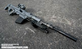 Halo srs100 s1 am sniper rifle prototype nerf by johnsonarms on