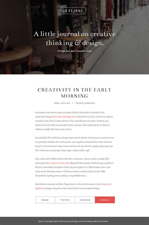 layout de um blog designing an elegant blog layout in photoshop