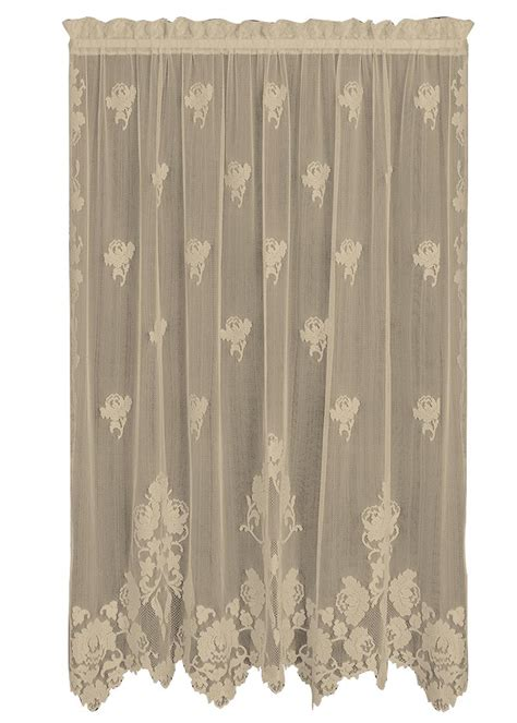 victorian lace curtains on sale windsor lace curtain panels heritage lace heritage lace