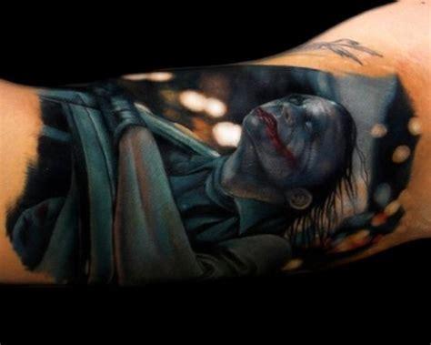 Tattoo Joker 3d | inkonthis joker 3d tattoo