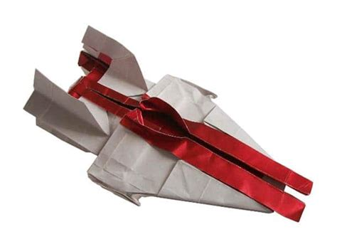Starwars Origami - wars origami folds the galaxy into