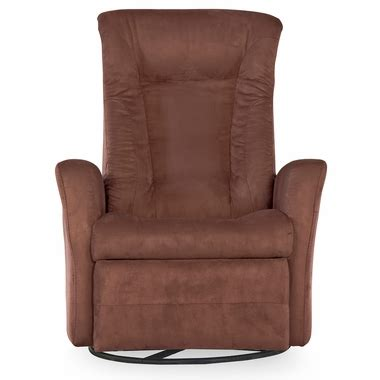 Push Button Recliner by Dezmo Push Button Recline Glider And Swivel Arm Chair With
