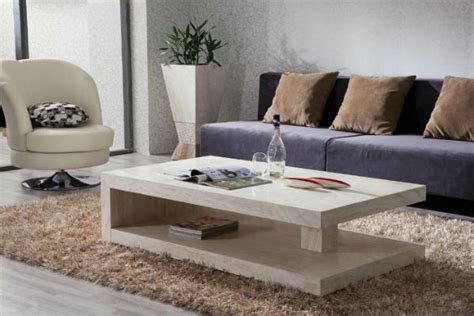 find stylish center tables for your living room interior