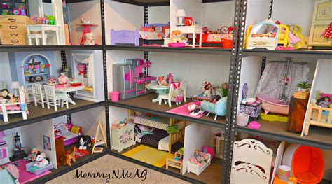 how to make a ag doll house huge american girl doll house new 2016 doll house tour mommyn meag youtube