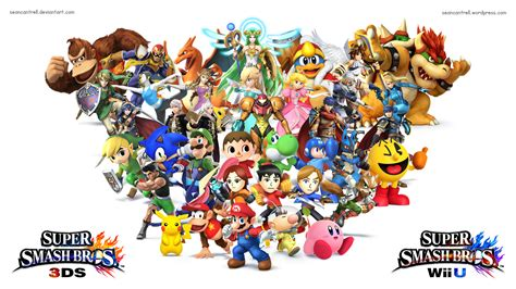 Smash Bros 3ds smash bros wii u wallpaper wallpapersafari