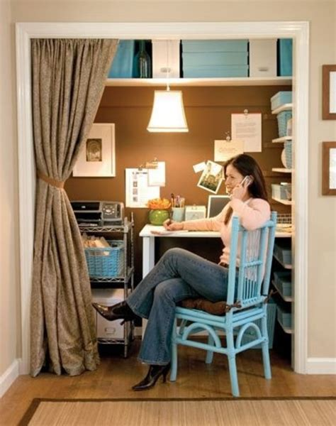a closet turned home office from lowe s design bookmark