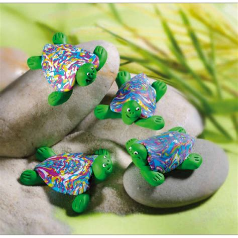 fimo decorations d 233 coration tortues en p 226 te polym 232 re fimo perles co