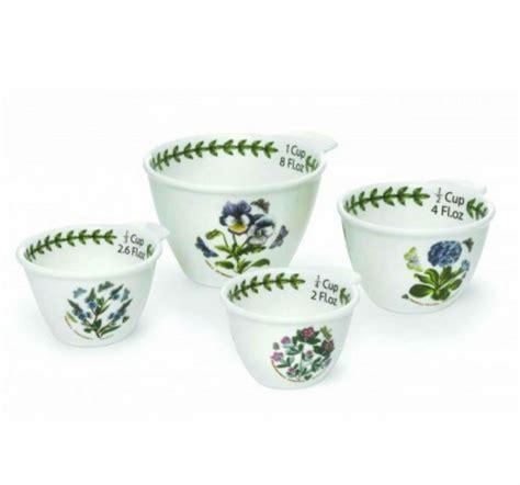 Portmeirion Botanic Garden Cups Botanic Garden Set Of 4 Measuring Cups Assorted Motifs By Portmeirion