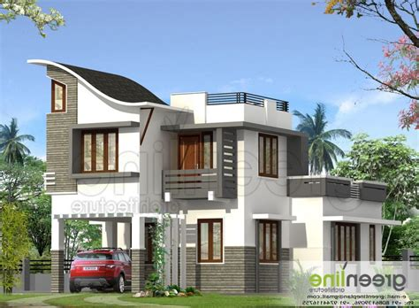 kerala home design flat roof elevation ten unconventional knowledge about flat roof house designs