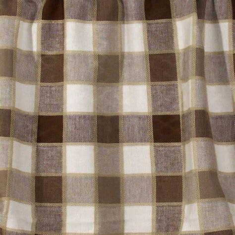 plaid curtain panels plymouth plaid curtain panel