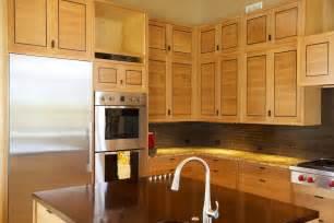 White Oak Kitchen Cabinets Mike Cabinetmakers Rift Sawn White Oak Kitchen