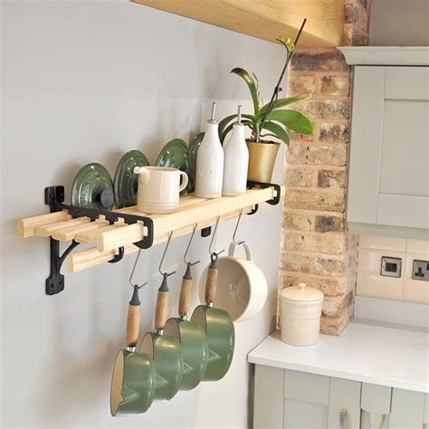 Kitchen Shelf Rack 6 lath kitchen shelf rack shelf racks iron pan racks