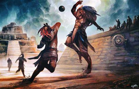 imagenes de los mayas jugando pelota juego de pelota maya un misterio por descubrir