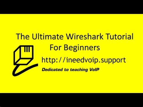 wireshark tutorial book net probe
