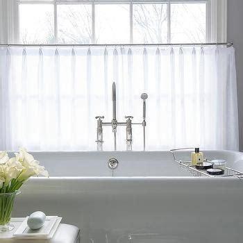 Cafe Curtains Bathroom Window White Cafe Curtain Curtain Menzilperde Net