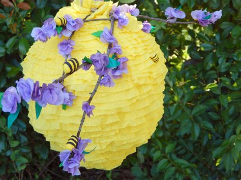 Make a Beehive Pinata HGTV