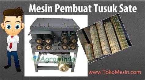Mesin Tusuk Sate Maksindo Jual Mesin Tusuk Sate Dan Jeruji Bambu Di Palembang Toko