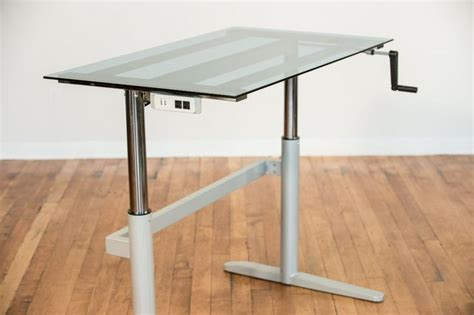 Computer Desk With Adjustable Height Adjustable Height Computer Desk Myboard