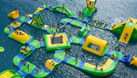 water assault course stag activity in marbella | stagweb
