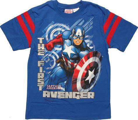 T Shirt Streak captain america avenger streak youth t shirt