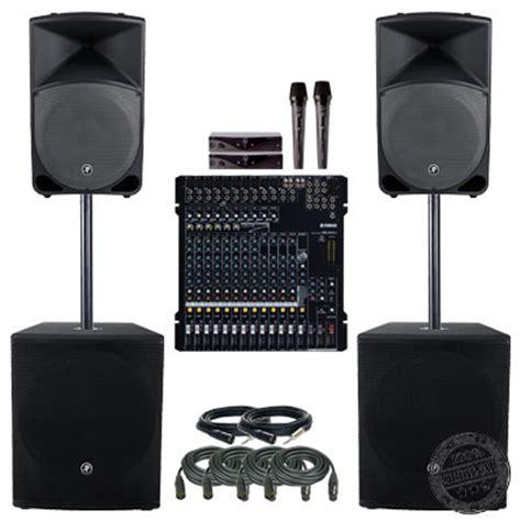 Paket Sound System Bmb Yamaha Mix Shure 15 Inch Berkualitas paket sound system simple mackie paket sound system profesional indonesia