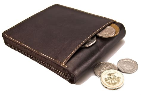 Genuine Leather Zip Wallet visconti mens genuine leather wallet zip zipped real