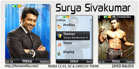 nokia c2 actor themes surya sivakumar animated theme for nokia x2 c2 01 240
