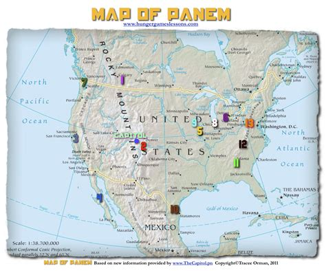 map of panem hunger hunger lessons my updated map of panem the hunger