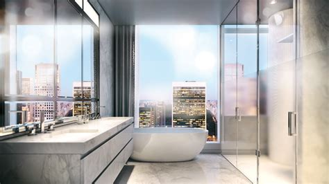nyc bathroom design interior design at baccarat hotel residences nyc