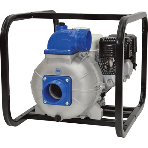 ipt  priming heavy duty trash water pump  ports  gph   solids capacity