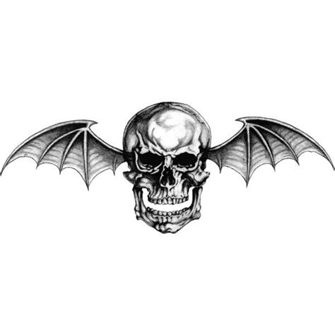 deathbat tattoo designs avenged sevenfold logo deathbat by lightsinaugust