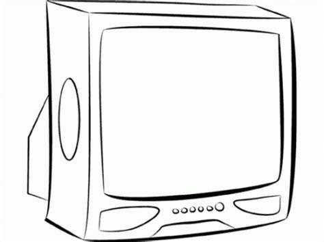 de la television  pintar colorear imagenes
