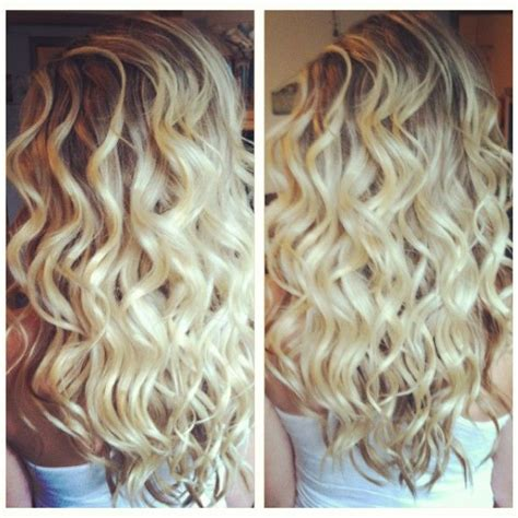 perm rods for loose beachy i want my hair to look like this everyday thinking about
