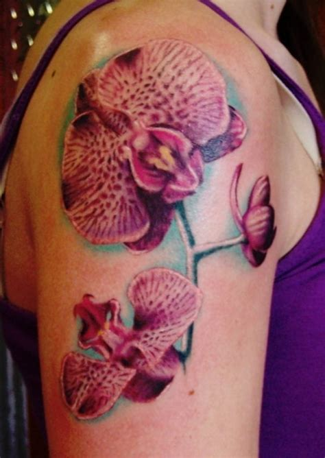 orchid flower tattoo orchid flower sleeve creativefan