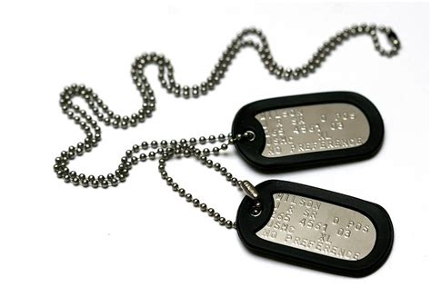 army tags personalised american army tag necklace by armydogtags notonthehighstreet