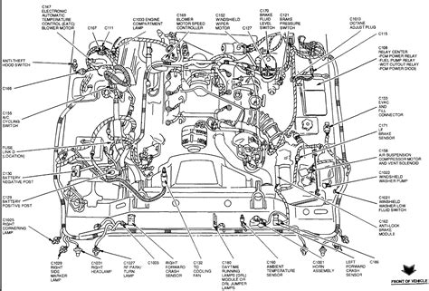 car engine diagram 02 lincoln town car engine diagram free image about