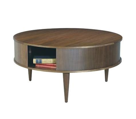 Round Coffee Table With Storage Living Room End Tables Storage End Tables For Living Room