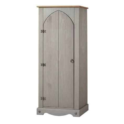 corona grey single panelled door natural wood vestry