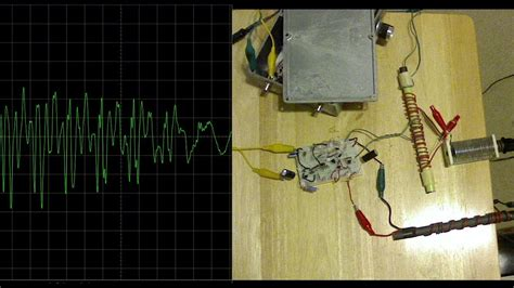 ham radio experimental rf near field rig transmitter monitor receiver for 80 meters ssb