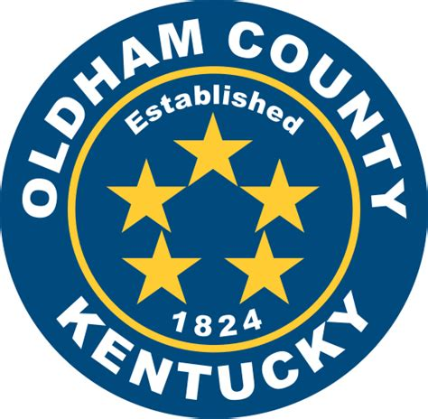 Oldham County Property Records File Seal Of Oldham County Kentucky Svg