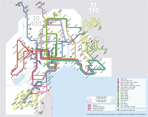 transport map lugano transport map
