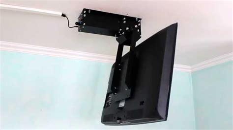tv halterung decke klappbar tv deckenhalter flasytl elektrisch klappbar mit