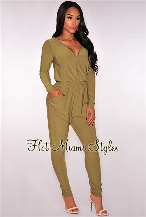 Zipper Overall by Olive Zipper Jumpsuit
