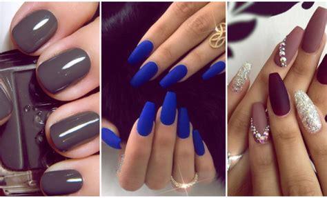 imagenes de uñas de acrilico color negras 7 colores de u 241 as que solo les van bien a las morenas yo