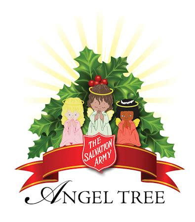 salvation army angel tree logo the salvation army tree